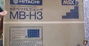 子供の頃、MSXに憧れたな~。日立 MSX2 MB-H3