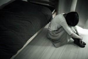 泣き暗い落ち込み