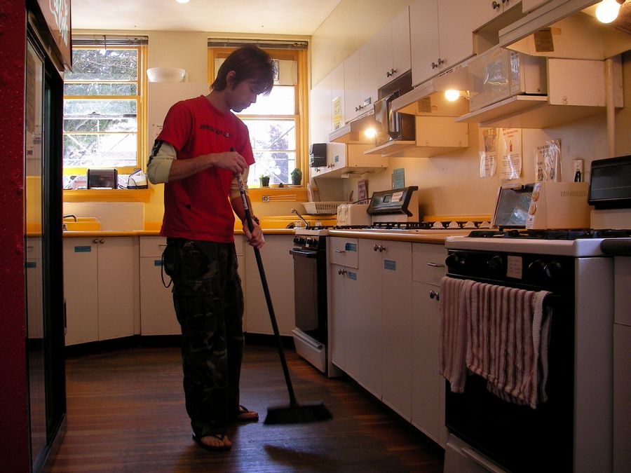 明日、大晦日の昼間は1人で大掃除しなきゃっ!
