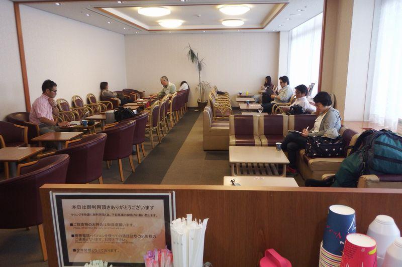 プライオリティパスで入れる成田空港(第1ターミナル)TEIラウンジ