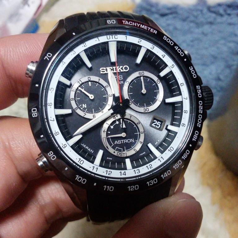 GPSの時計が欲しくてSEIKOのASTRONのSBXB015という時計を買ってしまいました。。。