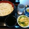 丸亀製麺でざるうどんを奢ってもらっちゃいましたよ!