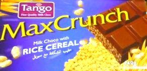 ダイソーで売っていたマレーシア製のTangoのチョコレートは販売終了なのか?