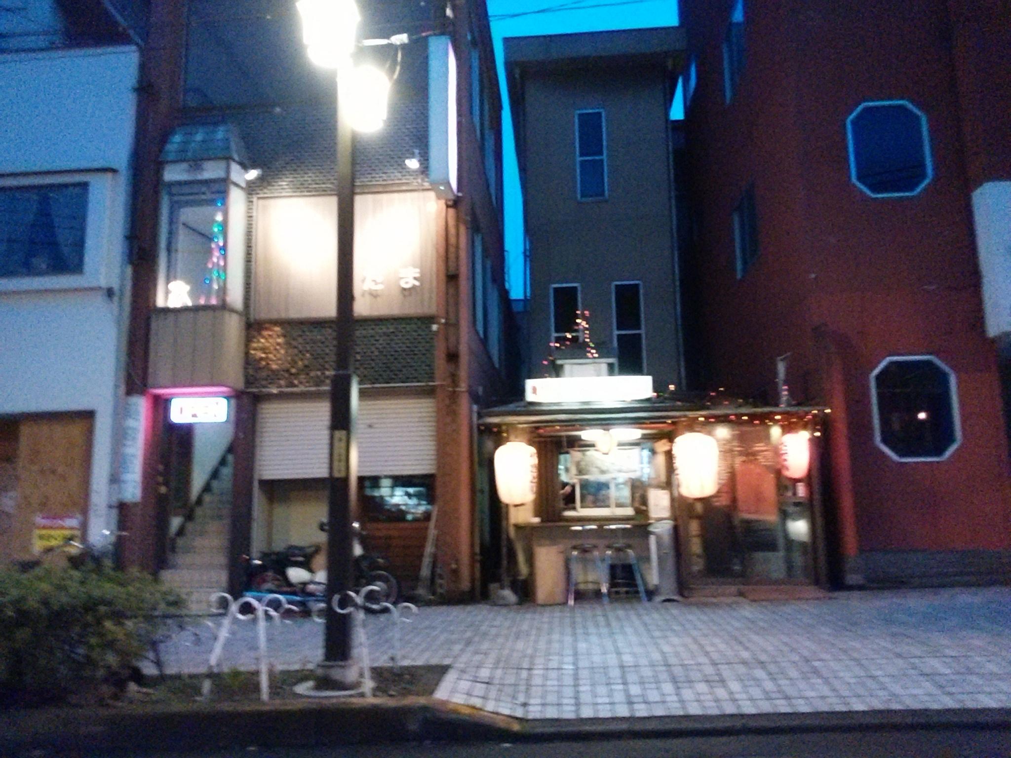 足利の東武伊勢崎線の足利市駅の所にある中橋を越えてすぐにある屋台風な焼き鳥屋さん知ってますか?