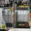 100均のセリアではノック式ボールペンが10本で100円!