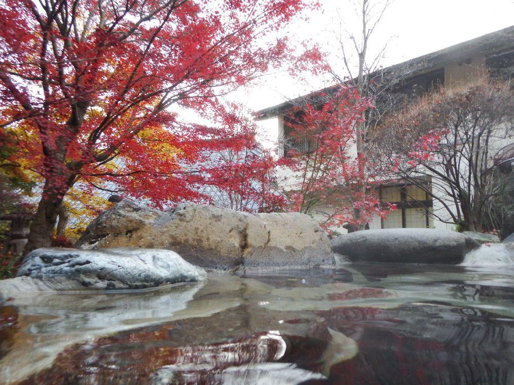 栃木県の塩原温泉郷【和楽遊苑】は素晴らしい混浴温泉だった