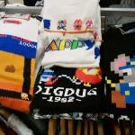 ファミコンのドット絵好きにはたまらない!ディグダグ&マッピーTシャツ