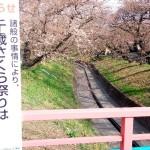 足利公園で夜桜イベントが本日から始まったから下見がてら昼間に行ってみたが・・・。