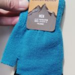 部屋が寒いので指なしの手袋をダイソーで買ってきました!